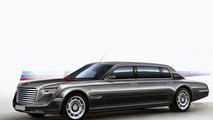 Russian presidential limo concept by Vladimir Hemp 25.2.2013