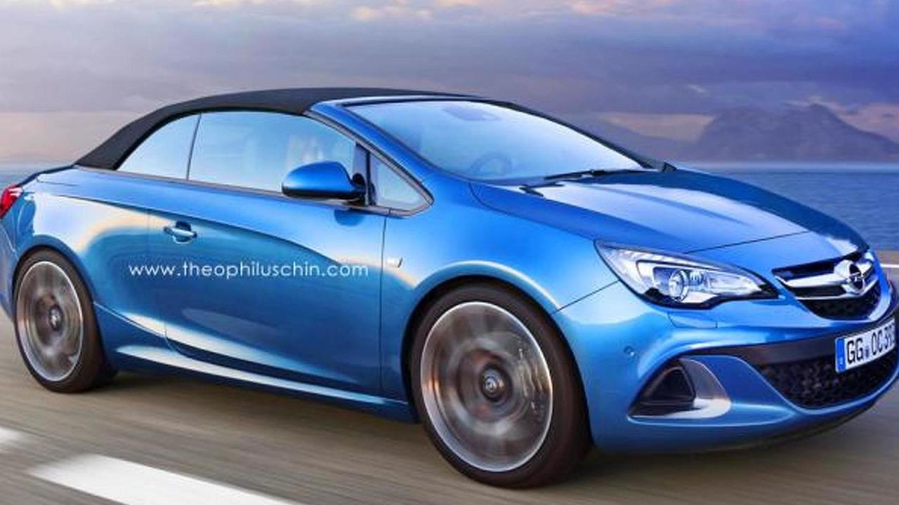 Opel Cascada OPC render / Theophilus Chin