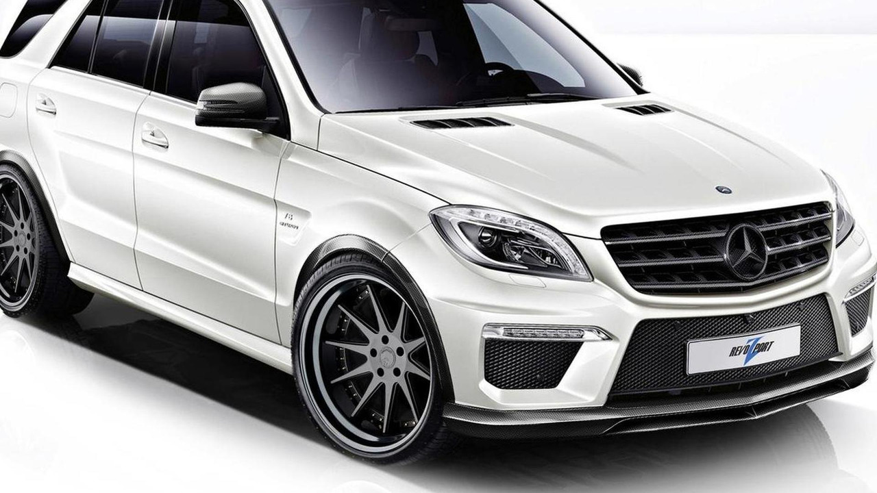 2012 Mercedes-Benz ML63 AMG by RevoZport