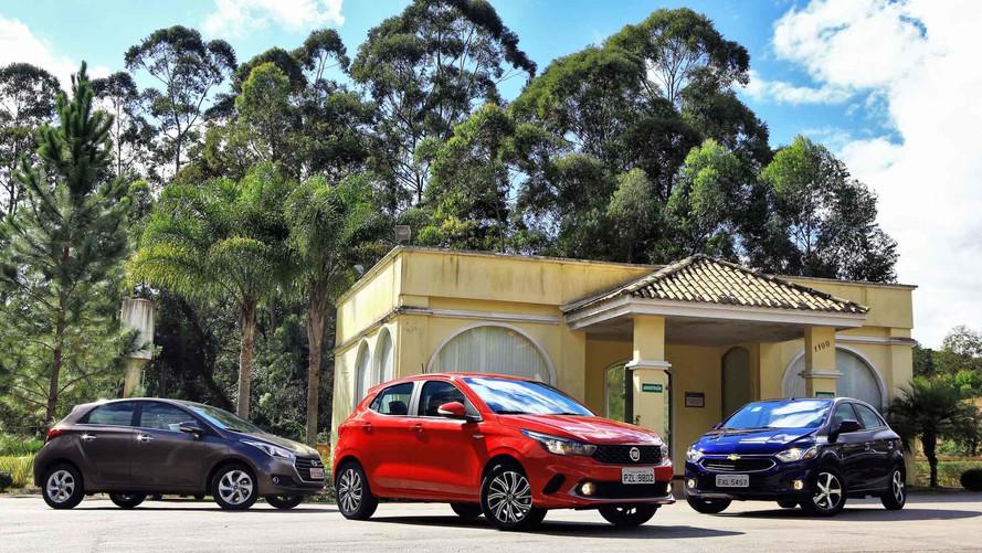 Vídeo - Comparativo Fiat Argo encara Novo Onix e HB20 automáticos