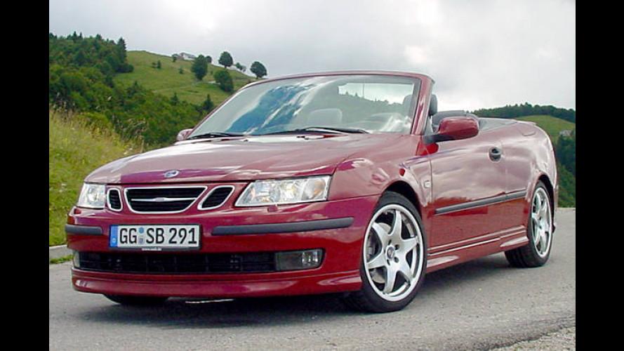 Auch offen sicher: Saab 9-3 Cabriolet siegt bei IIHS-Crashtest