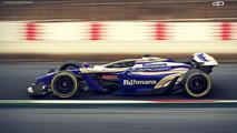 Formula 1 Vision Concept 2025 - by Antonio Paglia Design