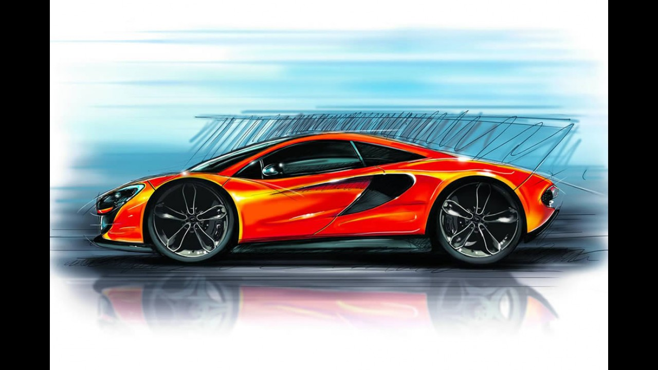 McLaren P13 - modelo