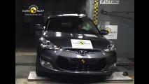 Hyundai Veloster recebe cinco estrelas na Euro NCAP