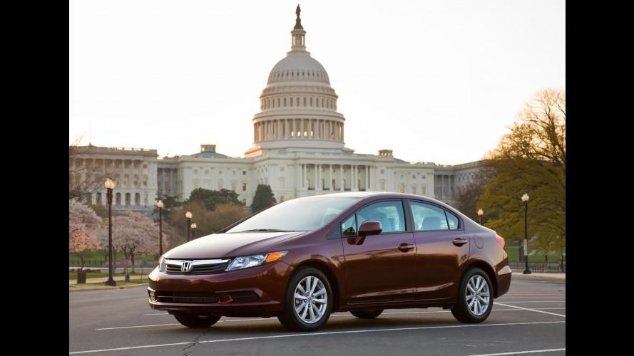 Difícil começo: Nova geração do Honda Civic recebe críticas nos EUA