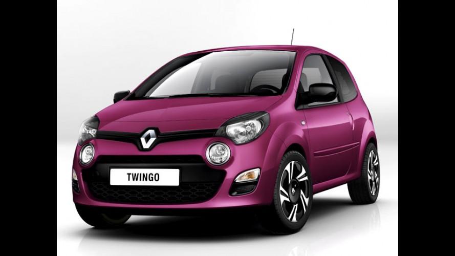 Renault Twingo 2012 aparece em primeira imagem oficial