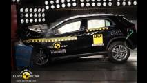 Mercedes GLA chegará ao Brasil com 5 estrelas no Euro NCAP