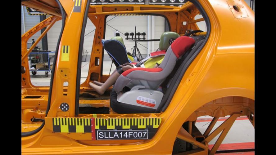 Cadeirinhas automotivas têm desempenho ruim em avaliação