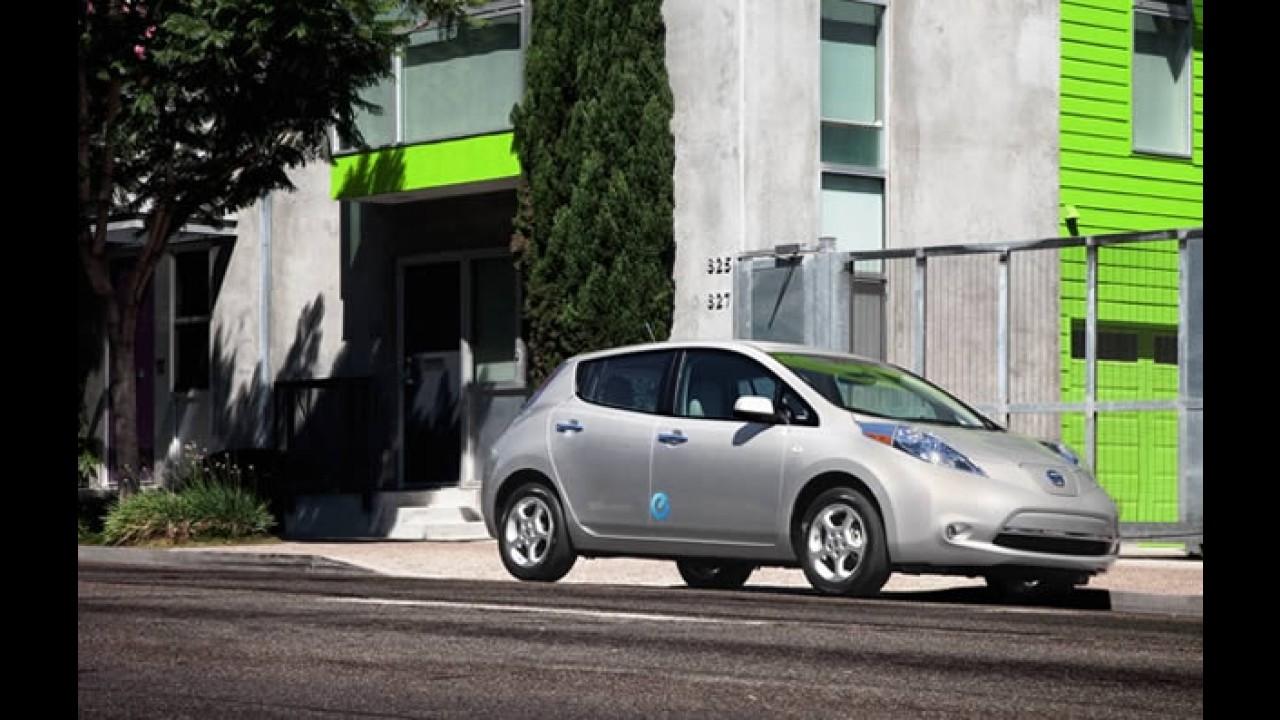 Nissan entrega primeira unidade do elétrico LEAF nos Estados Unidos