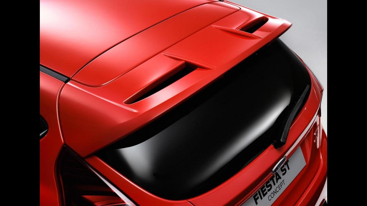 Salão de Frankfurt: Ford Fiesta ST Concept 2011 tem motor 1.6 Turbo de 180 cv