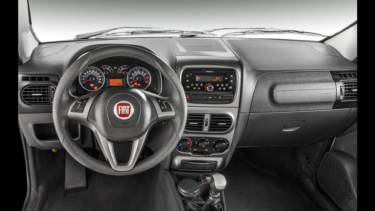 Fiat Strada 2013 ganha visual renovado - Preços começam em R$ 31.490,00