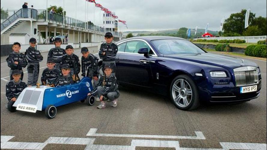 Rolls-Royce March 2 Glory, l'elettrica fatta dai bambini