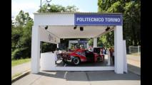 La Lancia Zero37 del Politecnico di Torino a Parco Valentino 2017