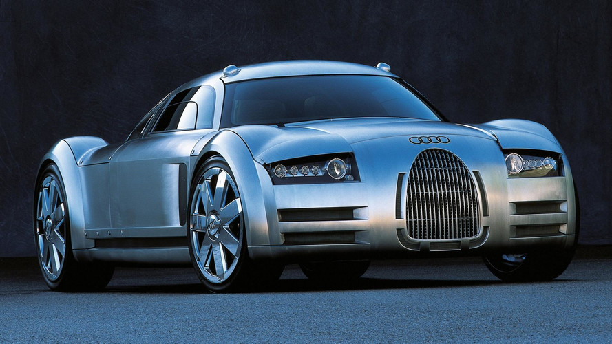 2000 Audi Rosemeyer: Concept We Forgot