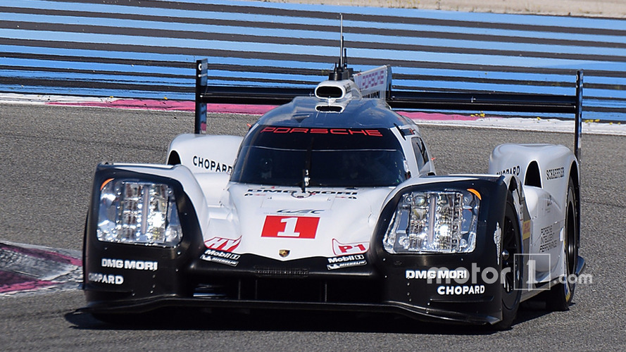 2017 Porsche LMP1 Car Breaks Cover
