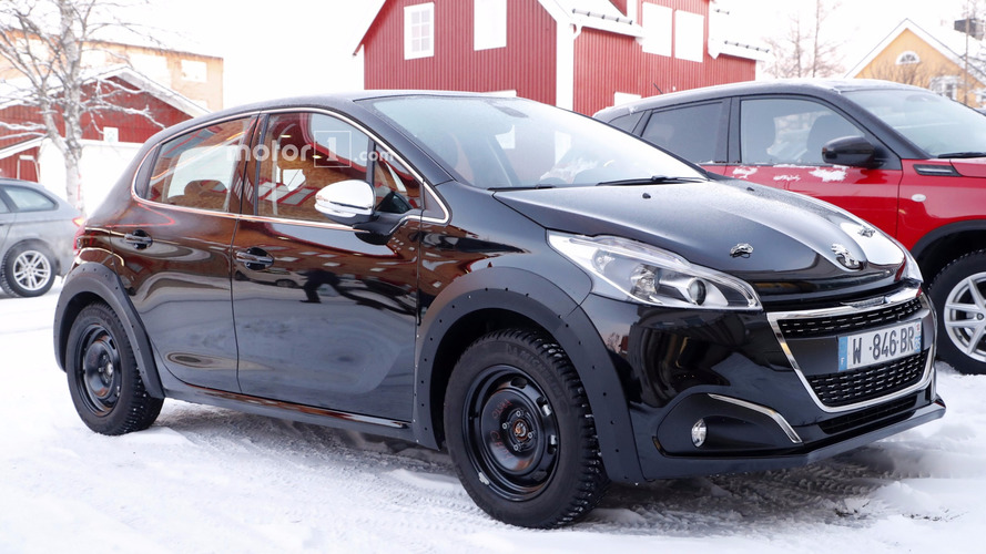 New Peugeot 208 makes spy photo debut