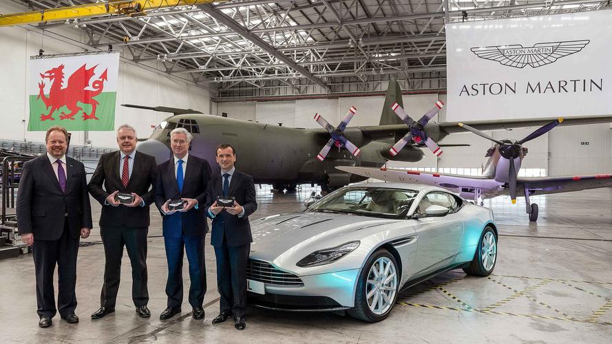 Aston Martin construit sa nouvelle usine au Pays de Galles