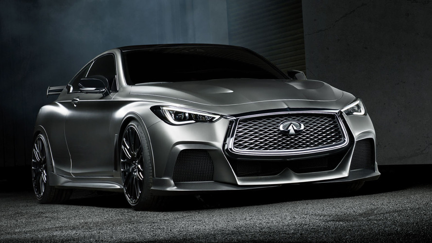 Infiniti and Renault F1 team join forces for 500-hp Q60 hybrid