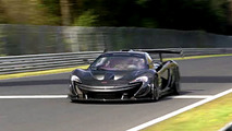 McLaren P1 GTR LM - Nürburgring