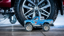 Toyota Hilux and Tamiya Bruiser