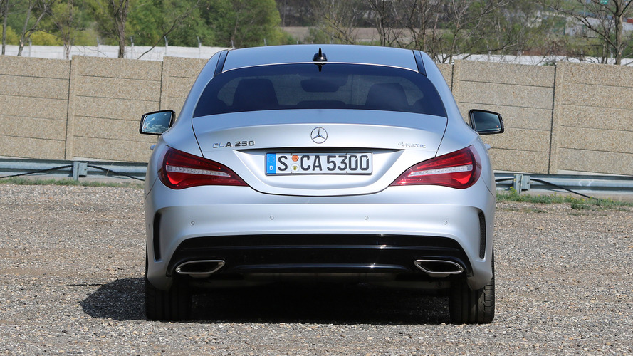 2017 mercedes benz cla250 first drive photo for Mercedes benz financial commercial