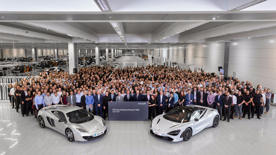 McLaren 720S Production Officially In Full Swing