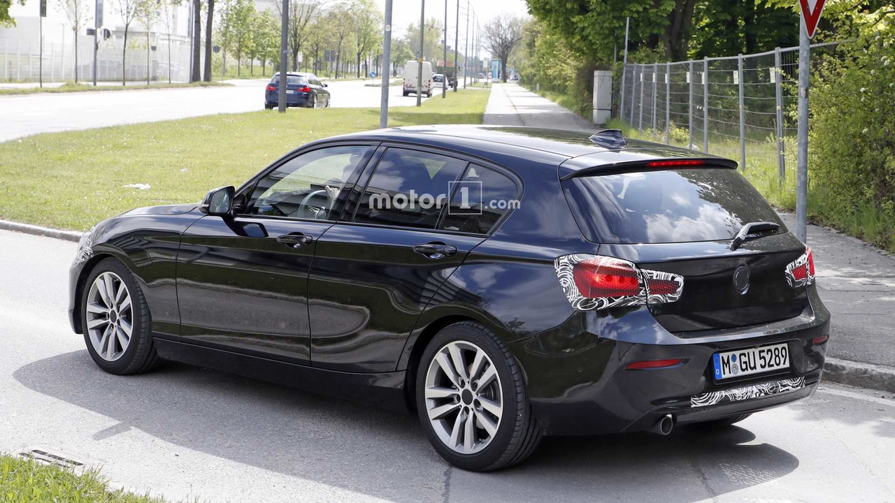 2018 bmw 1 series facelift spy photo photo. Black Bedroom Furniture Sets. Home Design Ideas
