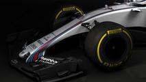 2017 Williams FW40 F1 car