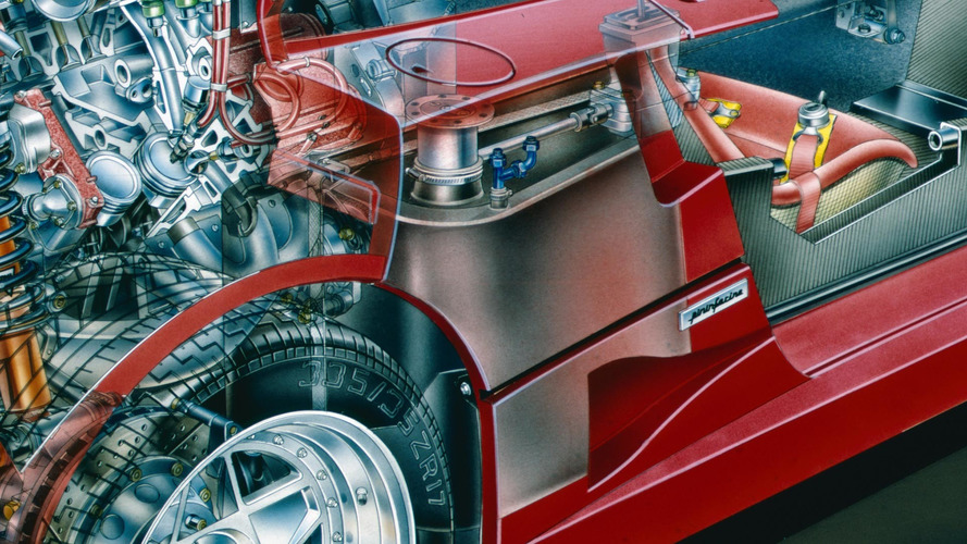 Ferrari F40 Prototype cutout by David Kimble