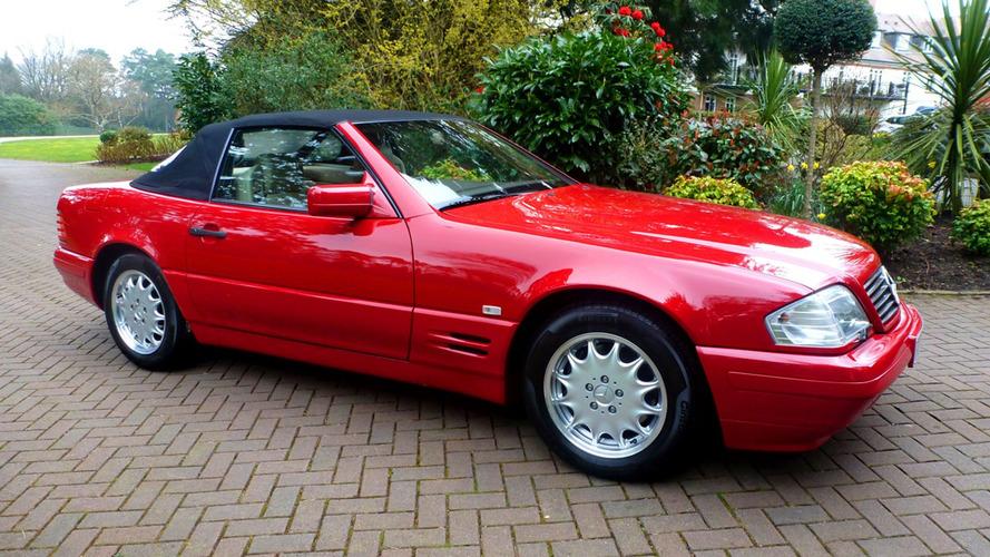 À vendre - Mercedes SL de 1996 avec 130 km au compteur