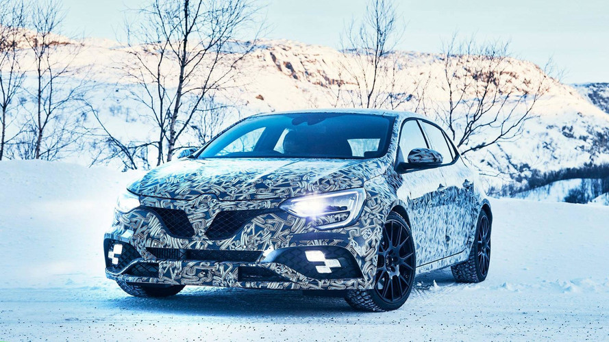 Renault Teases Camouflaged Megane RS In Snowy Scenery