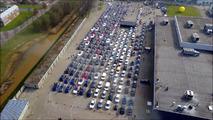 Elektrikli araç konvoyu dünya rekoru