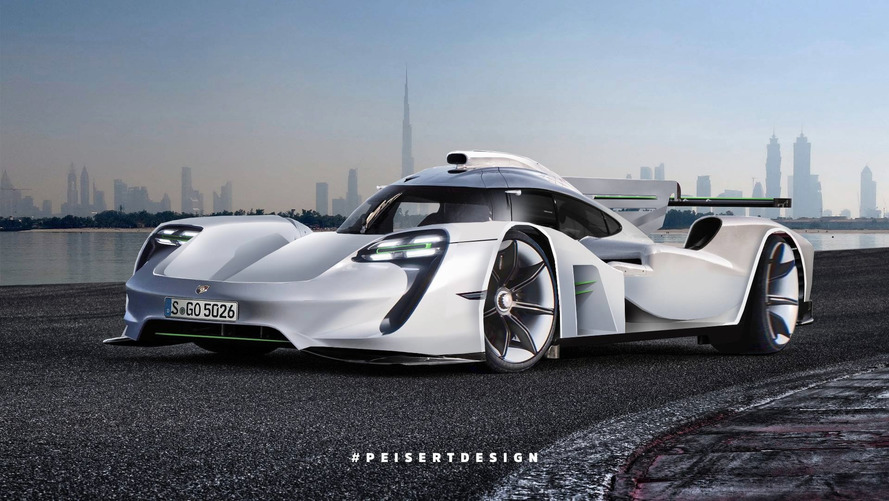 Porsche 919 Hybrid Transformed into GT1 Hypercar Successor