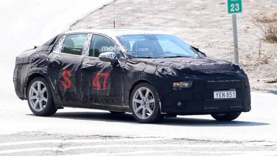 2018 Lynk & Co 02 Sedan Makes Spy Photo Debut