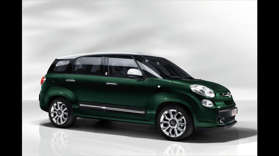 Fiat 500L Living: Sieben auf einen Streich