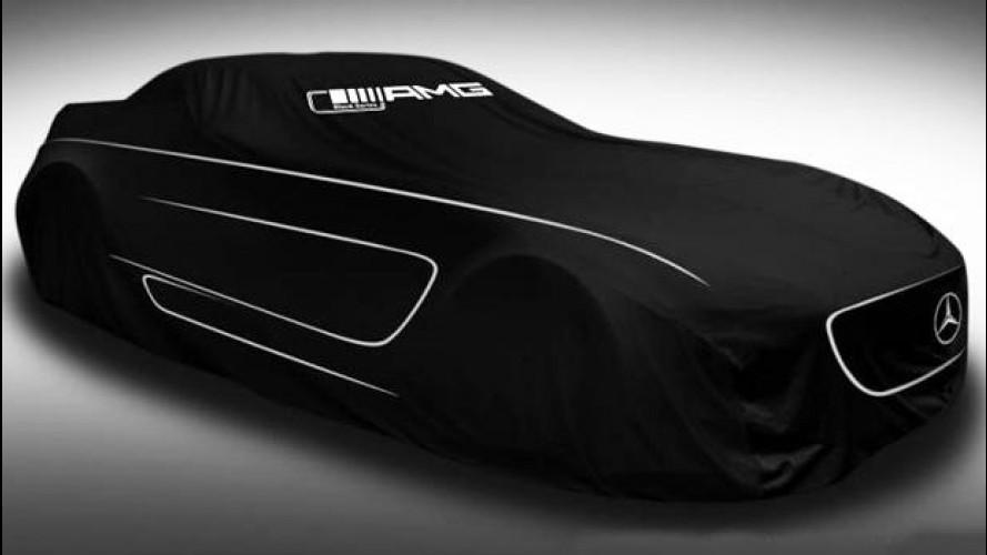Mercedes SLS AMG Black Series: oggi il debutto