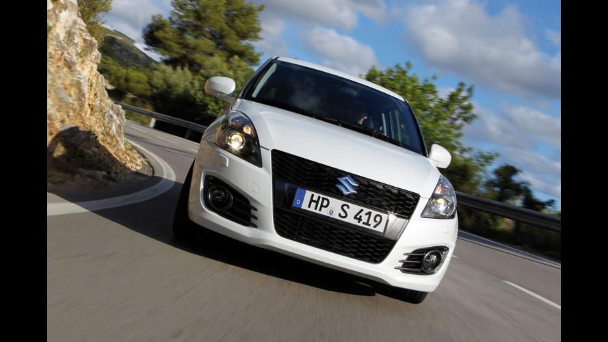 Nuova Suzuki Swift Sport: equilibrata con grinta
