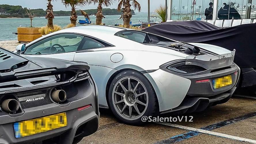 Muhtemel McLaren 600 LT'ye Ait Casus Fotoğraflar