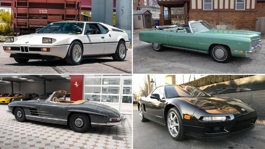 Los mejores coches clásicos, de segunda mano, a la venta en la web