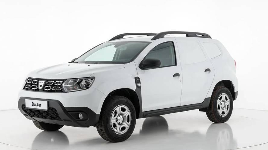 Le Dacia Duster se mue en utilitaire tôlé