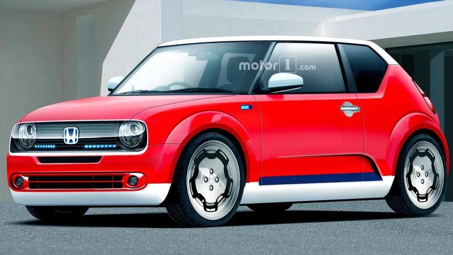Honda Urban EV konseptinin seri üretim hali böyle görünebilir