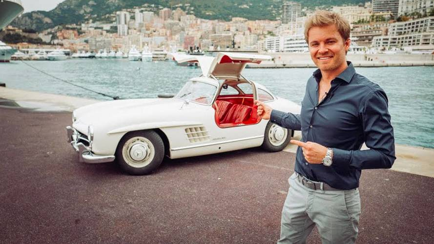 Watch Nico Rosberg Drive His Lovely 1955 Mercedes 300 SL Gullwing