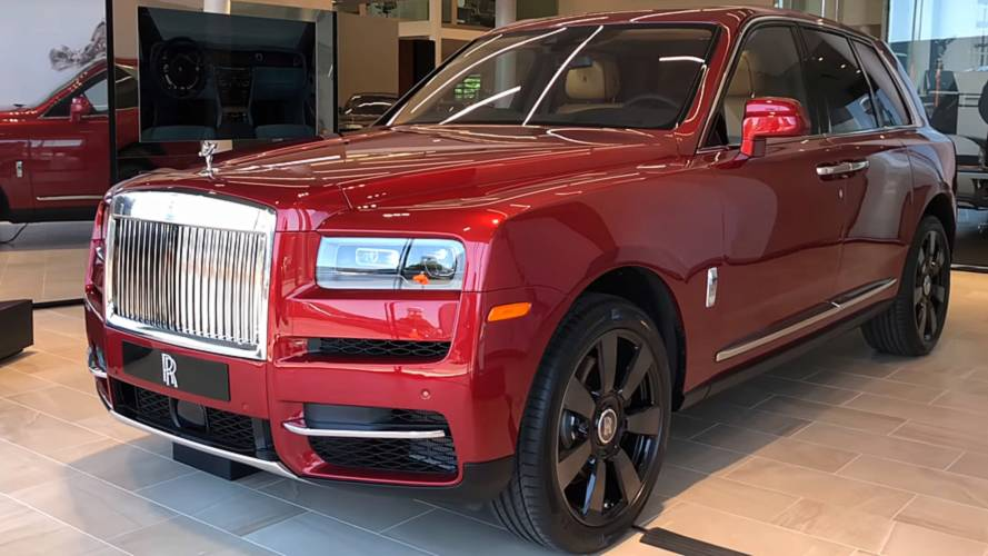 Rolls-Royce Cullinan Launch Edition detailed on video