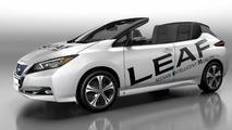 Üstü Açık Nissan Leaf