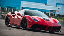 Ferrari 488 GTB with Misha Designs body kit