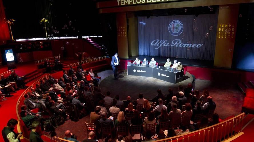 Alfa Romeo apadrina el libro 'Templos del Producto'