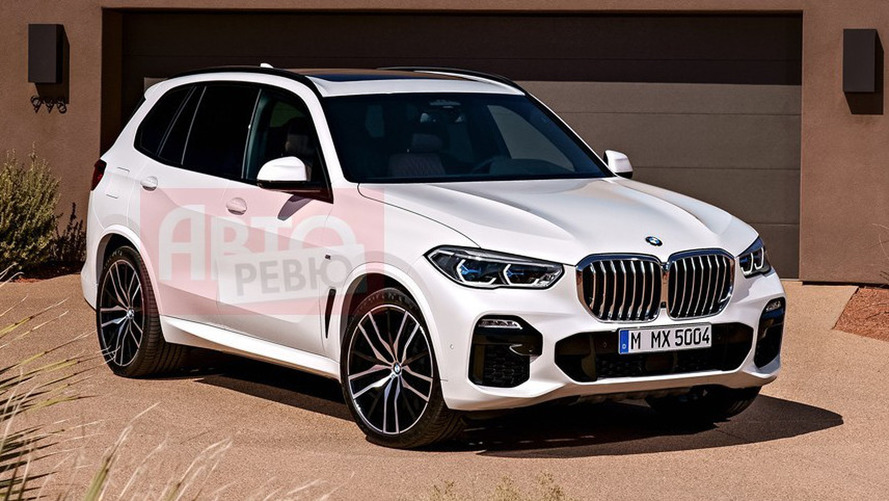 New BMW X5 (G05) revealed