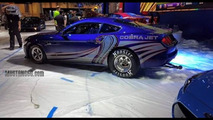 2016 Ford Mustang Cobra Jet spied on the SEMA floor