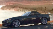 2017 Fiat 124 Spider spy photo