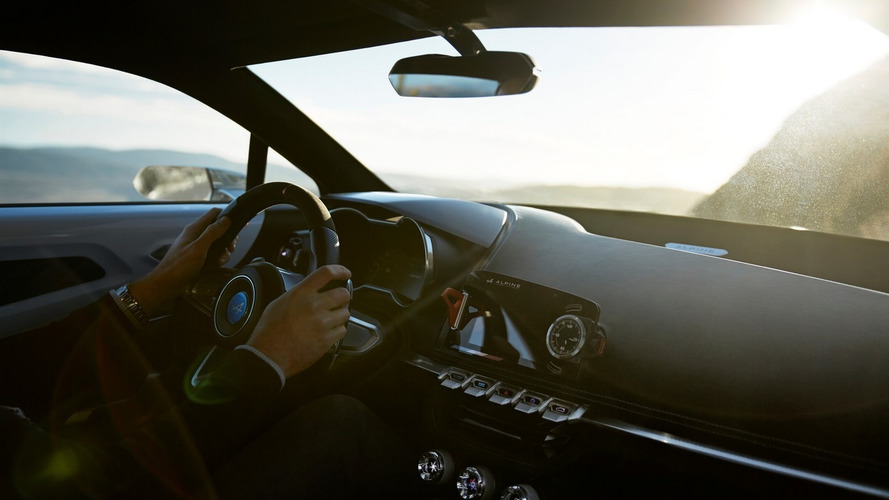 Alpine sports car interior revealed, but it's a concept